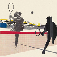ACE Tennis Magazine Illustrations