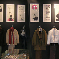 DKNY - Bond Street, London - Exhibition illustrations