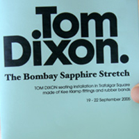 Tom Dixon - Exhibition leaflet